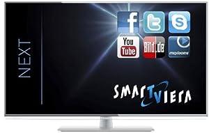 Panasonic TX-L42EW6 107 cm (42 Zoll) LED-Backlight-Fernseher, EEK A+ (Full HD, 100Hz blb, DVB-S/-T/-C, WLAN, USB) silber