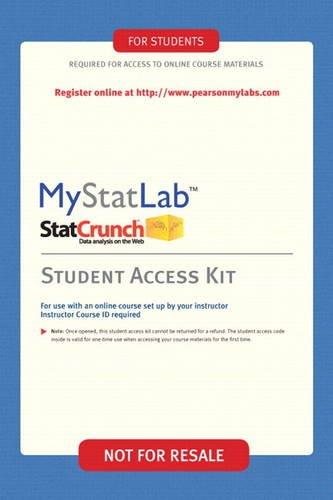 MyStatLab - Valuepack Access Card