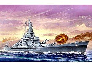 Trumpeter 1/700 USS Massachusetts BB59 Battleship Model Kit
