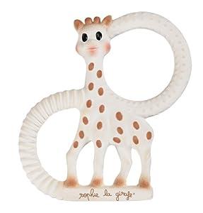 Duo mordedores SO'PURE Sophie la jirafa (Versión blando y muy blando) - BebeHogar.com