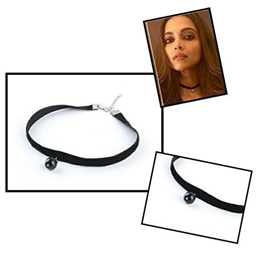 Chandrika-Pearls-Gems-Jewellers-deepika-padukone-Fake-Black-Tattoo-Choker-Necklace-For-Women-Girls-Forever-Gift