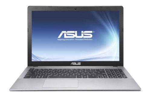 Asus F550LDV-X0637H 39,60 cm (15,6 Zoll) Notebook (Intel Core i5 4210U, 1,7GHz, 4GB RAM, 500GB HDD, NVIDIA GF 820M, Win 8) silber