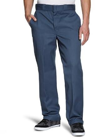 Dickies Men's Original 874 Work Pant, Air Force Blue, 38x30