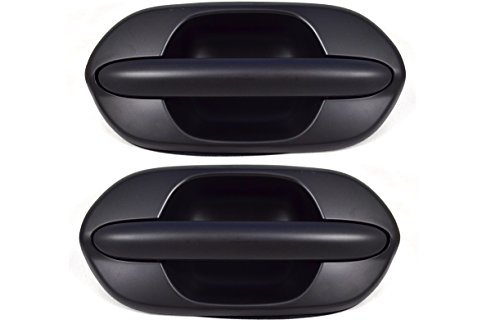 PT Auto Warehouse HO-3613P-RP - Outside Exterior Outer Slding Door Handle, Primed Black - Rear Left/Right Pair (Honda Odyssey Rear Door Handle compare prices)