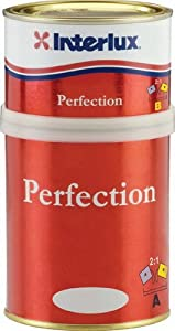 Perfection 2-Part Polyurethane Kits Qt Kit Perfection Off White by Interlux