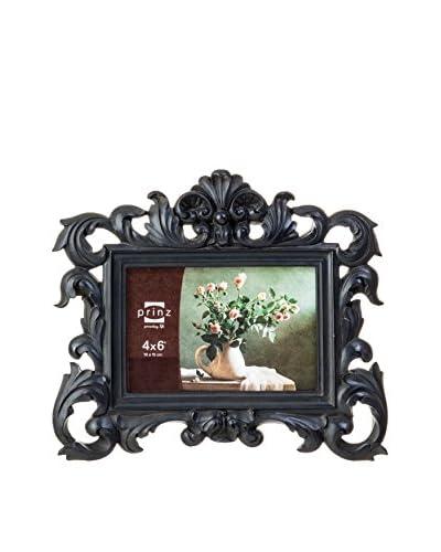 Prinz Versailles Black Resin Frame, 4″ x 6″