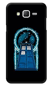 "Humor Gang Doctor Who Tardis Electrifying Printed Designer Mobile Back Cover For ""Samsung Galaxy Grand 2"" (3D, Glossy, Premium Quality Snap On Case)"