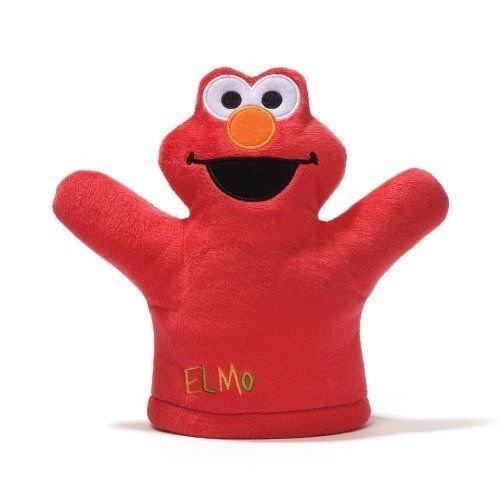 Gund Sesame Street Elmo Mini Puppet Plush