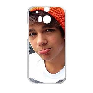 Amazon.com: love austin mahone Phone Case for HTC One M8: Cell Phones