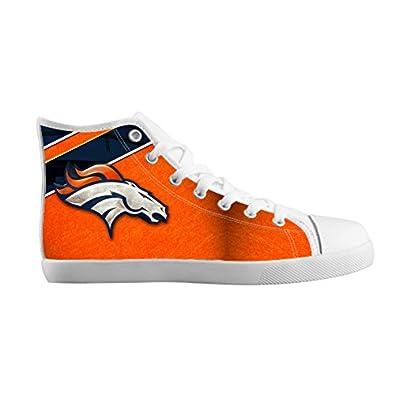 Amazon.com: Fashion High top Kid's Canvas Shoes Denver Broncos for
