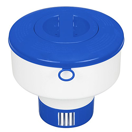 intex-swimming-pool-and-spa-large-floating-chemical-dispenser-bromine-and-chlorine-29041