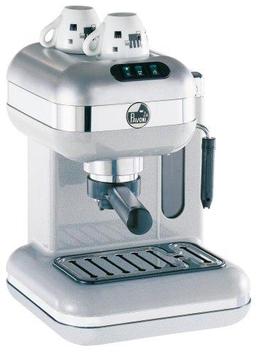 la Pavoni PW-16 Espresso/Cappuccino Machine, Metallic Pearl