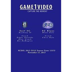 Game 13372 SC Blues Kale vs Surf Academy II Anzaldo