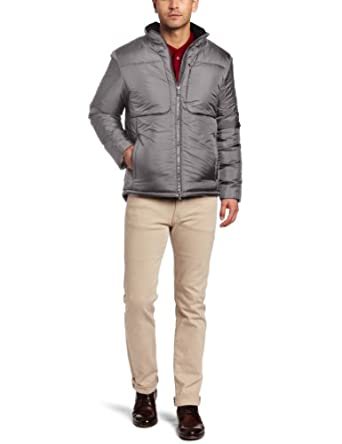 Victorinox Men's Elevation Jacket, Smoke Grey, X-Large