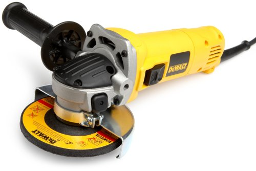 DEWALT D28110 Heavy-Duty 4-1/2-Inch (115 mm) Small Angle Grinder