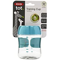 OXO Tot Training Cup, Aqua, 7 Ounce