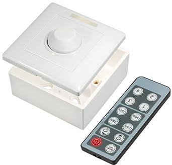 transmedia lc16l variateur pour ampoule ampoule led bande 12 v 96 96 w luminaires et. Black Bedroom Furniture Sets. Home Design Ideas