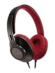 Philips SHL5800 Headband DJ-Style Kopfhörer (Aluminium-Bügel, Kunstleder) rot/schwarz ab 74,98 Euro inkl. Versand