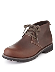Blue Harbour Leather Chukka Boots with Stormwear™
