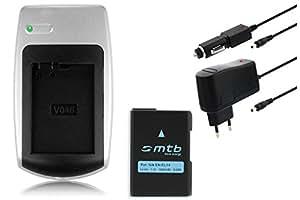 Chargeur + Batterie EN-EL14 pour Nikon D3100, D3200, D5100, D5200