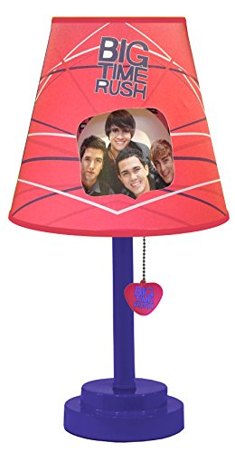 Nickelodeon Big Time Rush Die Cut Table Lamp - 1
