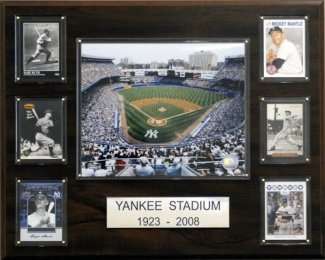 "New York Yankees Yankee Stadium (Old) 16""x20"" Plaque at Amazon.com"