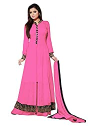 Styles Closet Latest Designer Collection for Plazo Style Salwar Suit (Peach Color_Free Size)