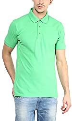 Yellow Submarine Cotton Green cotton Yellow submarine Polo T-shirt-Green Small