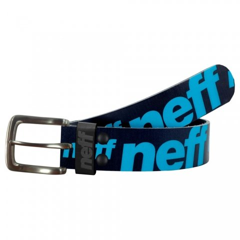 Neff Mens Corpo PU Belt Large/X-Large Black