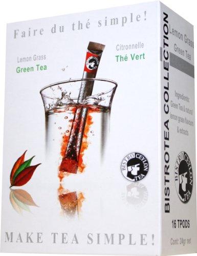 BistroTea Lemon Grass - 16 TPODs per box (Green Tea)