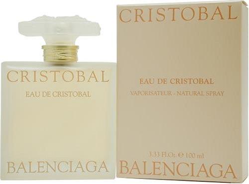 Eau De Cristobal By Balenciaga For Women. Eau De Toilette Spray 3.33 Oz / 100 Ml. by Balenciaga