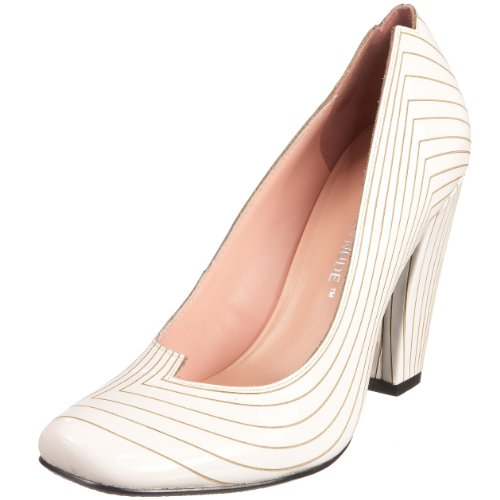 United Nude Women's Laser Pump Flow Hi White Shoe 679750403 5 UK