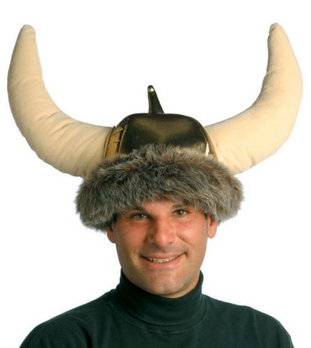 Space Viking Helmet Costume Hat Adult