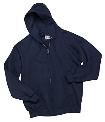Hanes Mens Ultimate Cotton Full-Zip Hooded Sweatshirt by Hanes