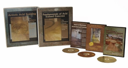 Acid Staining Secrets of the Pros: Professional Stainers Package - Loose-leaf & DVD - Bridgeworks - 1450761593 - ISBN:1450761593
