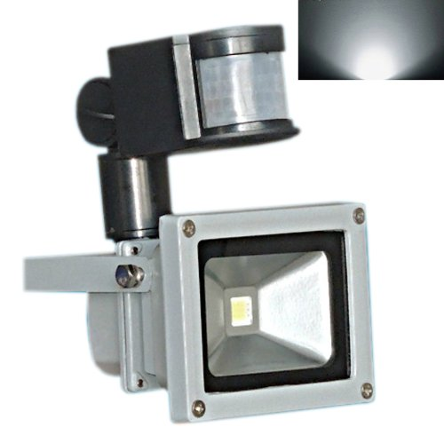 Hkbayi Brand New 30W Pir Motion Sensor Led Flood Light Floodlight Landscape Lamp White Ac 85-265V