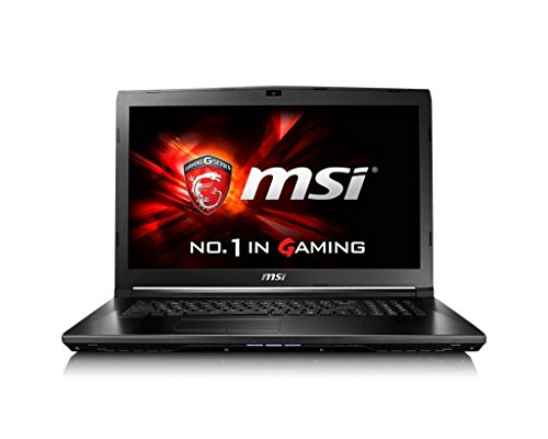MSI 9S7-179675-220 17.3-Inch Notebook (Black) – (Intel, 8 GB RAM, 1TB HDD, Windows 10)