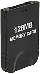 Hde 128 Mb (2043 Blocks) White Memory Card For Nintendo Game Cube Or Wii