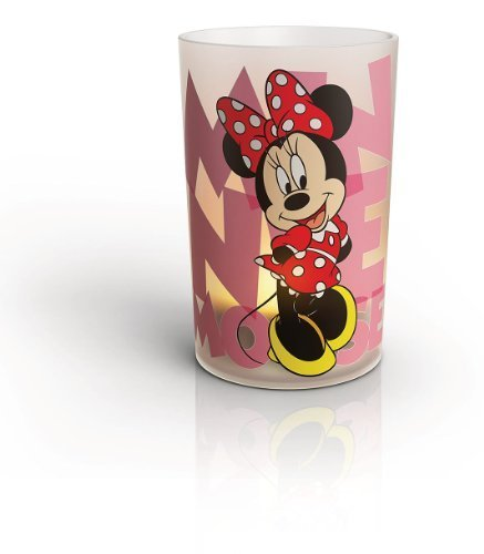 Philips Disney Minnie Mouse Children'S Candle Set - 4 X 0.06 W Led Candles By Philips