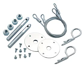 Mr. Gasket 1616 Competition Hood Pin Kit Safety Pin - Set of 2