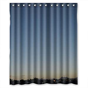 Home Fashion Anti Bacterial Animal Shower Curtains Width Height 60 72 Inch