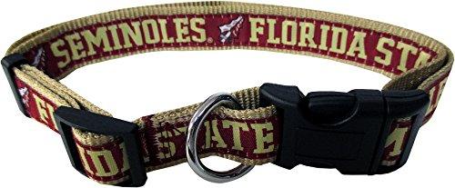Pets First Collegiate Florida State Seminoles Pet Collar, Small