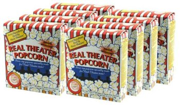 Real Theater Popcorn Kit - 40 Pack