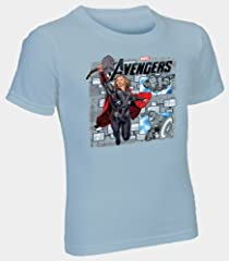 Fruit of the Loom Boys' 3pk Avengers Crew