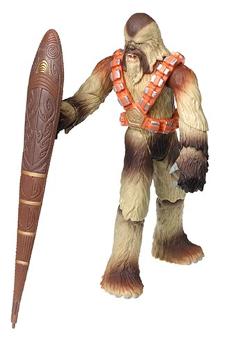 Star Wars Episode III 3 Revenge of the Sith WOOKIEE WARRIOR Battle Bash Figure #43