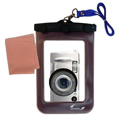 Gomadic Clean-n-Dry Waterproof Camera Case for the Kodak LS443 * unique floating design