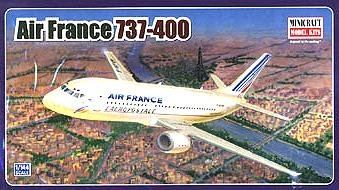 Buy Boeing 737-400 Air France 1-144 by Minicraft