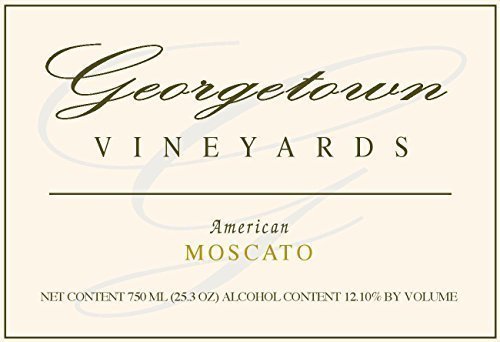 NV Georgetown Vineyards American Moscato Wine 750ml White Wine