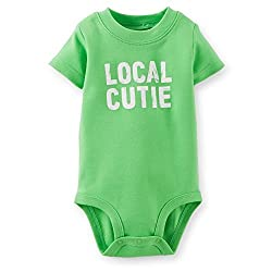 Carters Baby Boys Local Cutie Bodysuit (Newborn)