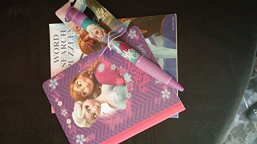Disney Frozen Activity Book, Jumbo Pen and Composition Book - 1